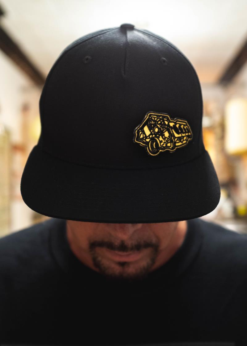 MEMBERS ONLY GOLD ENGINE HAT