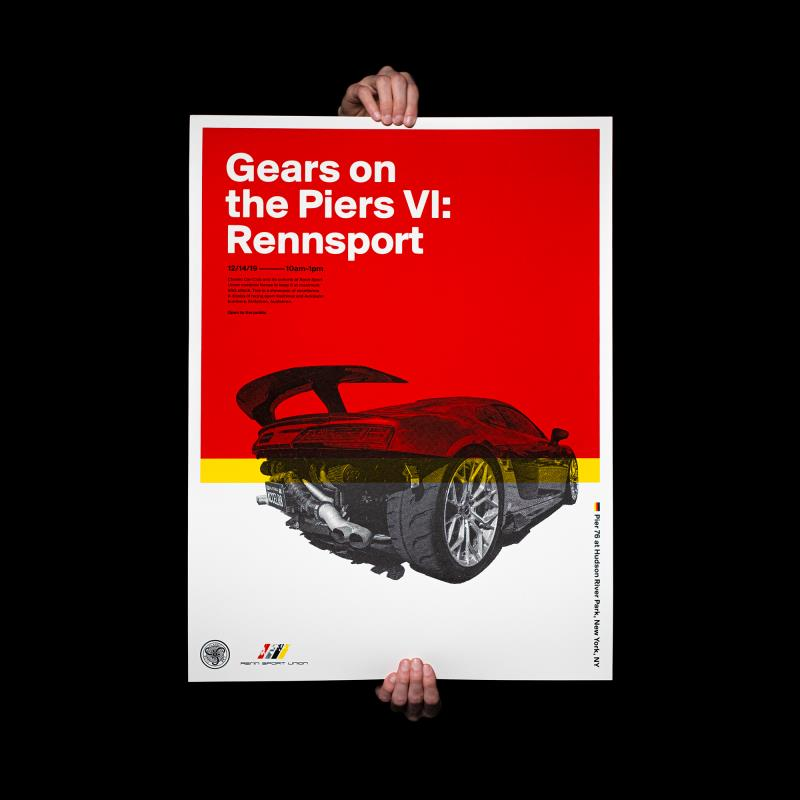 Gears On The Piers VI: Rennsport Poster