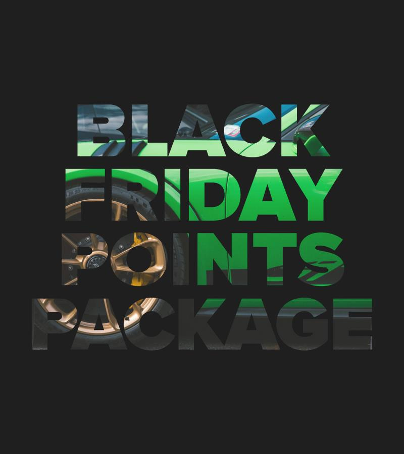 Black Friday Points Sale